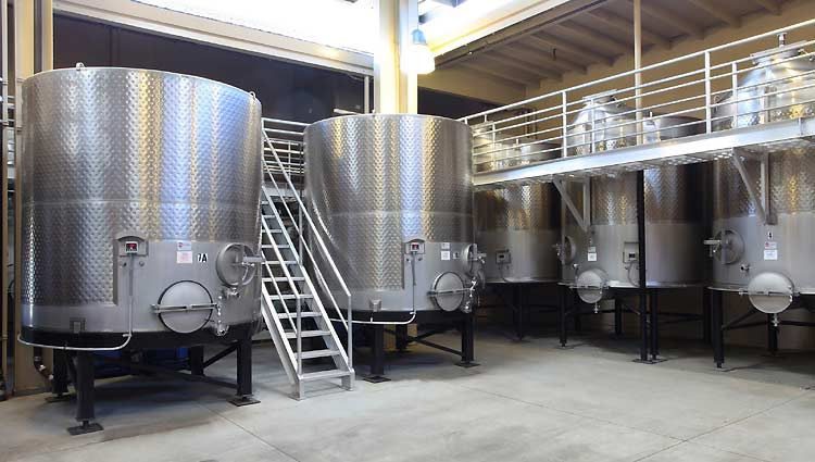 Integrated Winery Aluminum Catwalk